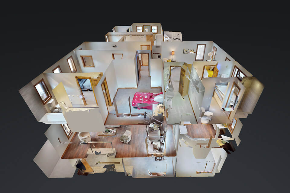 Square Feet Floor Plans - 3D Tours